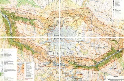 Карта маршрута вокруг